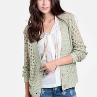Kyoto Gardens Buttoned Cardigan - $38.00 : ThreadSence, Women's Indie & Bohemian Clothing, Dresses, & Accessories