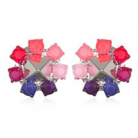 Charm &amp; Chain | Flower Stud Earrings - New Arrivals - Jewelry