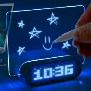 Memo Board Alarm Clock