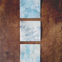 Tie-Dye Leather Coasters | Bottle Stock