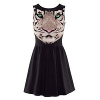 Tiger Pattern Dress