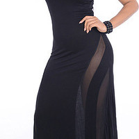 To The Top (Black)-Great Glam is the web's best online shop for trendy club styles, fashionable party dresses and dress wear, super hot clubbing clothing, stylish going out shirts, partying clothes, super cute and sexy club fashions, halter and tube tops,