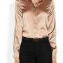 Gucci|Stretch silk-satin shirt|NET-A-PORTER.COM