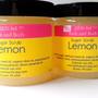 Lemon Sugar Scrub by ZEN-ful, Body Scrub, Exfoliating Sugar Scrub, Paraben Free Scrub, Gift Ideas, Skin Care, Sugar Scrub 4 oz