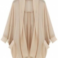 Spring Chiffon Coat
