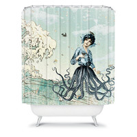 DENY Designs Home Accessories | Belle13 Sea Fairy Shower Curtain