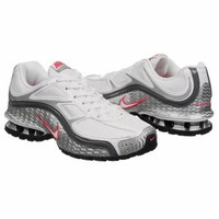 Athletics Nike Women's Reax Run 5 White/Grey/Spark FamousFootwear.com