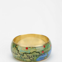 Small World Bangle Bracelet