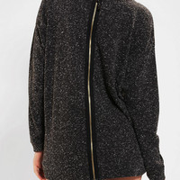 Sparkle &amp; Fade Zip-Back Sweatshirt