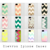 Chevron Iphone, Ipod & Samsung Galaxy Cases by CMcDonald