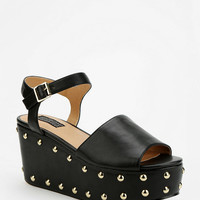 Deena &amp; Ozzy Bubble-Stud Platform Sandal
