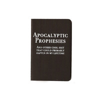 Apocalyptic Musings Moleskine Notebook by RichandDamned on Etsy