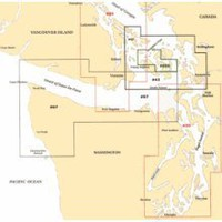 San Juan Islands, Washington Cruising Nautical Marine Charts, Large Print - Waterproof Charts