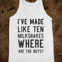WHERE ARE THE BOYS?