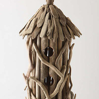 Anthropologie - Driftwood Birdhouse