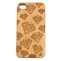 Stone Diamonds Pattern Iphone 4 and 5 Cherry - GoodWoodNYC