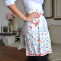 Vintage Polka Dot Half Apron