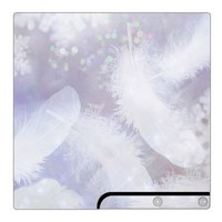Sony PS3 Slim Decal Skin - Crystal Feathers