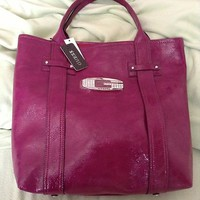 BNWT Guess Purple Rosalie Tote Purse