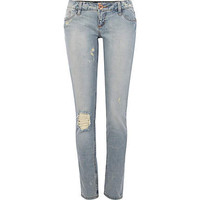 Light wash ripped Matilda skinny jeans  - skinny jeans - jeans - women