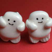 Doctor Who Adipose Earrings