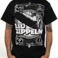 Led Zeppelin, T-Shirt, Zeppelin Square