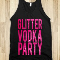 Glitter Vodka Party - Echo Shirts - Skreened T-shirts, Organic Shirts, Hoodies, Kids Tees, Baby One-Pieces and Tote Bags