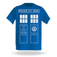 TARDIS Costume Tee