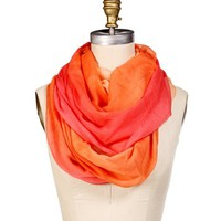 Peach Ombre Infinity Scarf