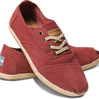 Rose Suede Women's Cordones