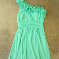 Sweet Mint Julep Dress [2295] - $42.00 : Vintage Inspired Clothing & Affordable Summer Frocks, deloom | Modern. Vintage. Crafted.