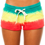Vans  The Key Dip Dye French Terry Short in Rasta : Karmaloop.com - Global Concrete Culture