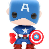 Marvel Universe Pop! Captain America Vinyl Figure | Hot Topic