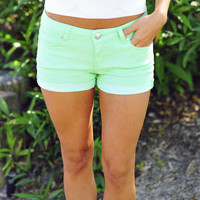 I&#x27;ll Make You Mine Shorts: Mint | Hope&#x27;s