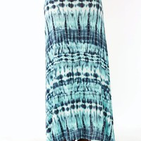 tie-dye-maxi-skirt MINTINDIGO - GoJane.com