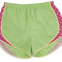 Citrus Dot Running Shorts