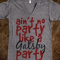 gatsby party - outlet412 - Skreened T-shirts, Organic Shirts, Hoodies, Kids Tees, Baby One-Pieces and Tote Bags
