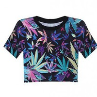 HEMP MISFITS RIFT CROP TOP