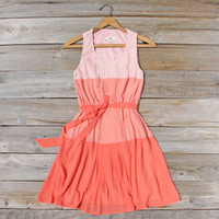 Peach Grove Dress in Peach, Sweet Women&#x27;s Bridesmaid &amp; Party Dresses