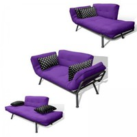 American Furniture Alliance Mali Flex Futon Frame and Cushions