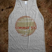 Summer Girl - ProMeTeeUs - Skreened T-shirts, Organic Shirts, Hoodies, Kids Tees, Baby One-Pieces and Tote Bags