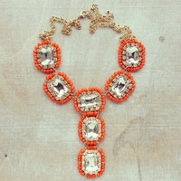 Pree Brulee - Sunset Sparkles Necklace