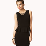 Sleeveless Knit Peplum Dress | FOREVER21 - 2047025705