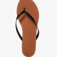 Faux Leather Thong Sandals | FOREVER 21 - 2047695036