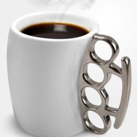 fredflare.com  | fisticup brass knuckle mug