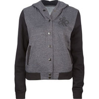 LIRA Letterman Womens Hooded Jacket