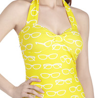 Nice to Sea You Swimsuit Top | Mod Retro Vintage Bathing Suits | ModCloth.com