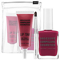 Sephora: Obsessive Compulsive Cosmetics : Lip Tar &amp; Nail Lacquer Set : lip-sets-palettes-lips-makeup