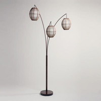 Tiki Arc Spheres Floor Lamp