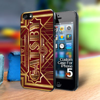 TP330 The Great Gatsby Gold Iphone 5 case